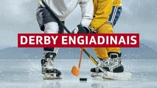 I va per l'onur e la cruna da hockey ladina
