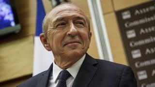 Frankreichs Innenminister weist Schuld von sich