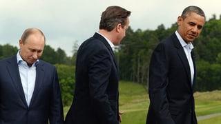 Russland könnte von der G8 ausgeschlossen werden