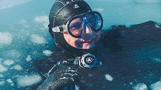 Im eisigen Wasser der Arktis