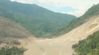 Gefährliche Sprengpläne an Damm nach Erdrutsch in Nepal