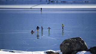 Paradis da glatsch sin il Lago Bianco
