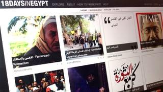 Digitales Abbild der ägyptischen Revolution