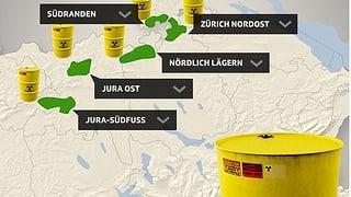 Die Suche nach einem Atommüll-Endlager