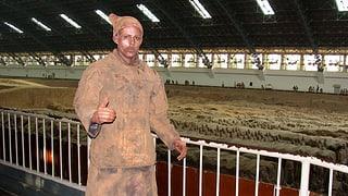 Pablo Wendel - lebendiger Terrakottakrieger
