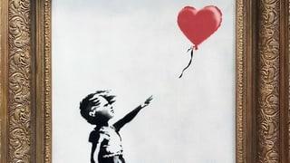 Käuferin bezahlt für geschreddertes Banksy-Bild