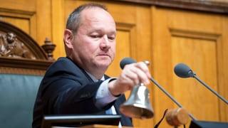 «Als Nationalratspräsident muss ich sehr konzentriert sein»
