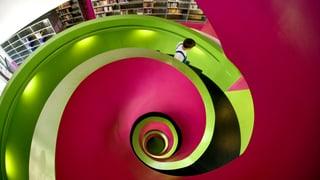 Lauschig statt staubig: die Bibliothek von heute