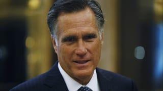 Romney könnte Trump wieder auf die Pelle rücken