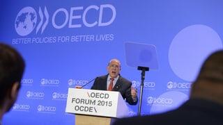 OECD warnt vor Folgen niedriger Zinsen