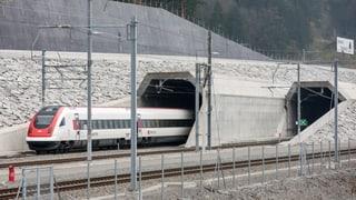 Tunnel da basa Gottard bainbaud en funcziun