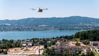 Post-Drohne über Zürichsee abgestürzt