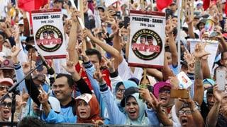 Indonesien ist vor den Wahlen gespalten