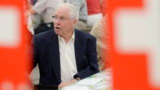 Blocher beharrt nicht mehr auf Kontingenten