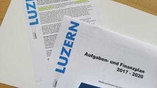 Luzerner Regierung legt umstrittenes Budget 2017 vor
