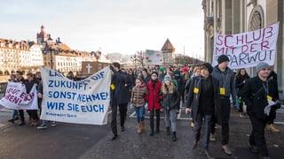 Linke und Protest-Allianz im Kanton Luzern erfolglos