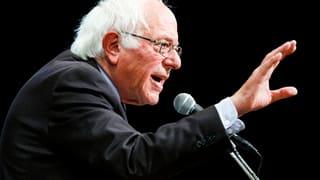Sanders: «Werde für Clinton stimmen»