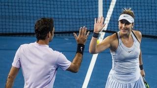 Bencic e Federer gudognan il Hopman Cup