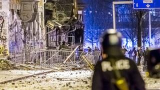 Elf Verletzte bei erneuten Ausschreitungen in Bern