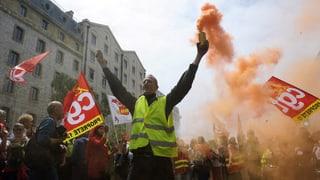 Proteste in Frankreich immer radikaler