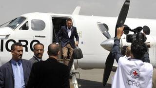 IKRK-Chef in Jemen zu Besuch