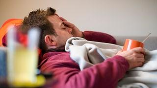 Grippewelle hat die Schweiz fest im Griff