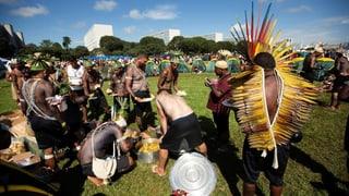 Indigene fordern Schutz ihres Lebensraums