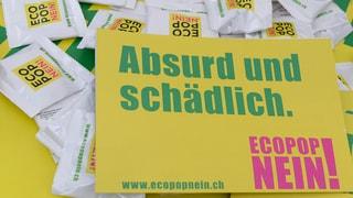 Zürcher Mitteparteien gehen Listenverbindung mit Ecopop ein