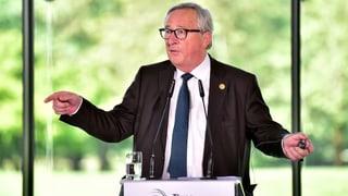 Juncker offen für Präzisierungen – wenn es schnell geht