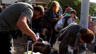 Russische Touristen kehren ohne Koffer aus Ägypten zurück