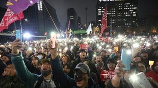 Corea dal Sid: Las demonstraziuns cuntinueschan