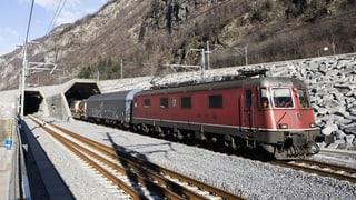 Gotthard-Basistunnel hat bisher die meisten Tests bestanden