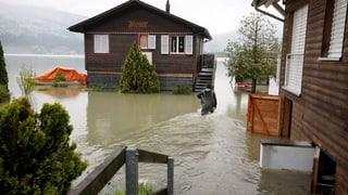 Leichte Entspannung in der Zentralschweiz - Pegel bleiben hoch
