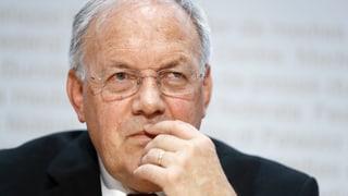 Schneider-Ammann will Waffenexport-Lockerung überdenken