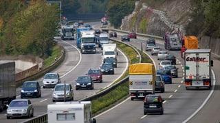 Weniger Unfälle dank Baustelle auf der A1