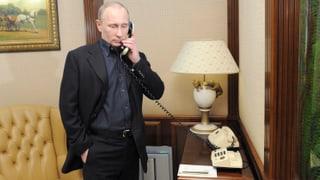 Drähte laufen heiss zwischen Burkhalter und Putin