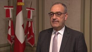 Verteidigungsminister Parmelin verspricht Ende der Trinkgelage