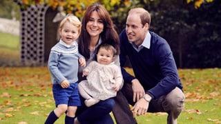 Süsse Grüsse: William und Kate wünschen frohe Weihnachten