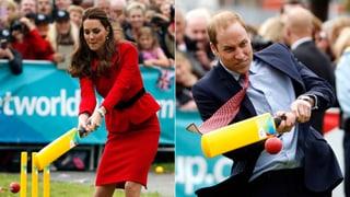 In Neuseeland: Kate und William wieder ohne George unterwegs