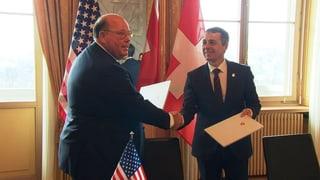 Schweiz vertritt künftig USA in Venezuela
