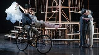 Romeo und Julia kämpfen um ihre Welt der Träume