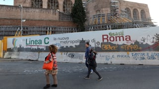 Roms Bürgermeisterin stoppt Ausbau der U-Bahn