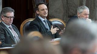 Stefan Engler gegen harte Umsetzung des Korruptionsstrafrechts