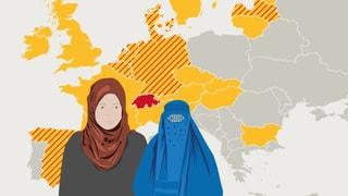 Wo es überall in Europa ein Verhüllungsverbot gibt