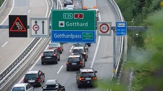 Kampagne für zweite Gotthardröhre lanciert