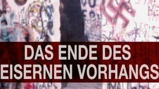 «10vor10»-Serie: Das Ende des Eisernen Vorhangs
