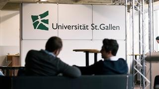 Universität St. Gallen will grundlegenden Kulturwandel einleiten
