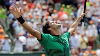 Terz final, terz titel: Federer triumfescha era a Miami