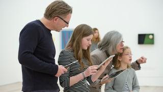 Schnitzeljagd mit dem Tablet im Museum