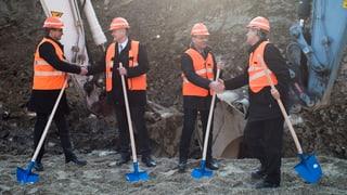 Bözbergtunnel: Baustart für Kernstück des 4-Meter-Korridors